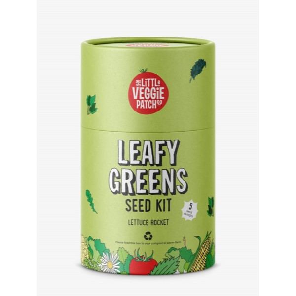 Little Veggie Patch Co. Seed Kit Leafy Greens front