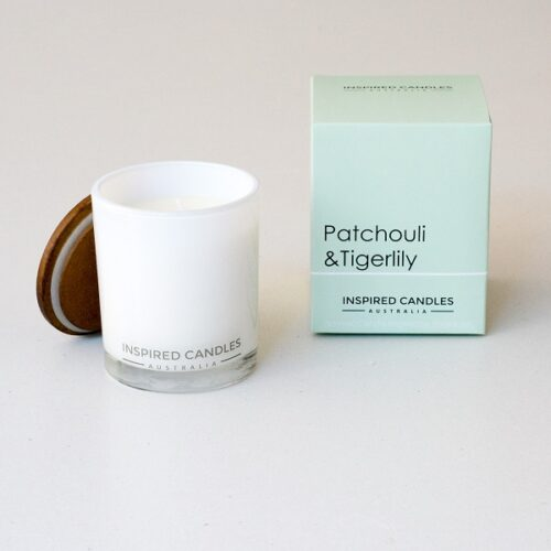Inspired Candles Botanicals Patchouli and Tigerlilly