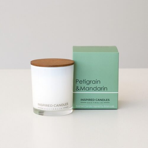 Inspired Candles Botanicals Petigrain and Mandarin