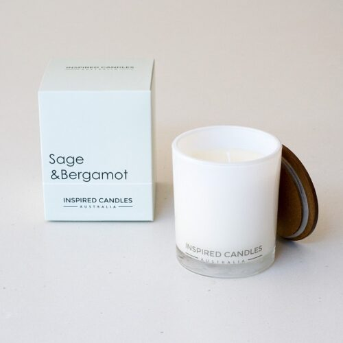 Inspired Candles Botanicals sage and bergamont