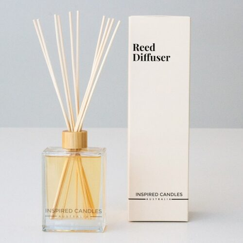 Inspired Brands reed diffuser berries and tangerine