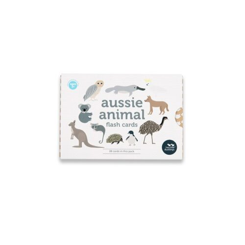 Two Little Ducklings Aussie Animal Flash Cards front.jpg