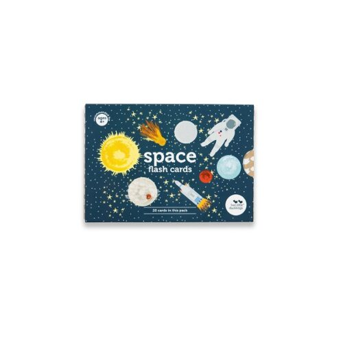 Two Little Ducklings Science Flash Cards space flash cards front.jpg